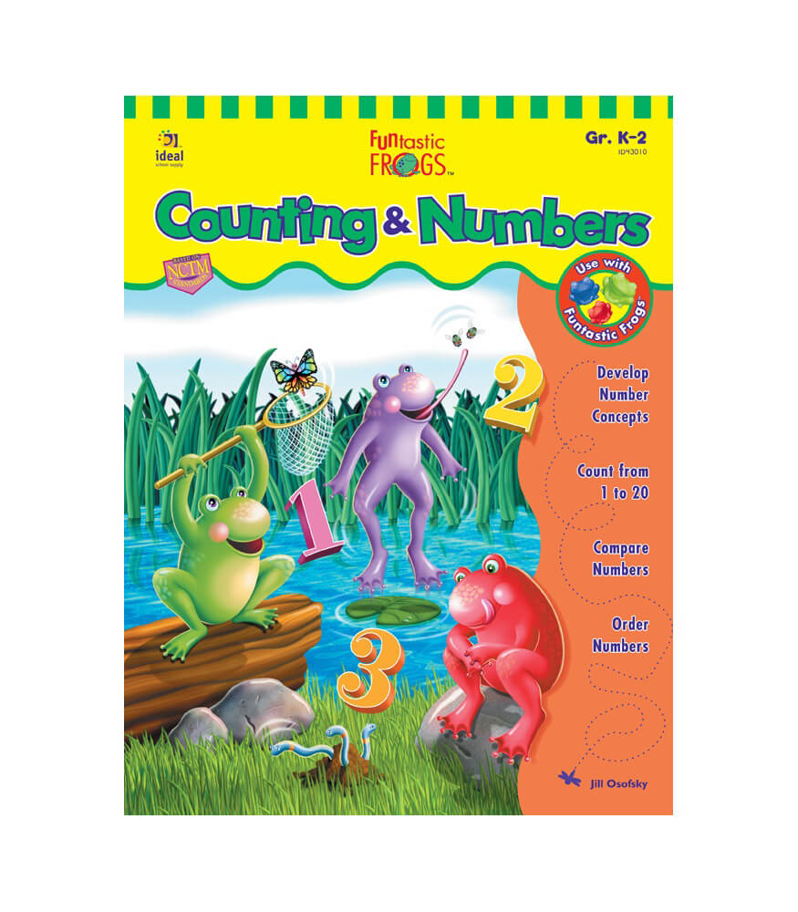 Funtastic Frogs™ Counting & Numbers Resource Book Product Image