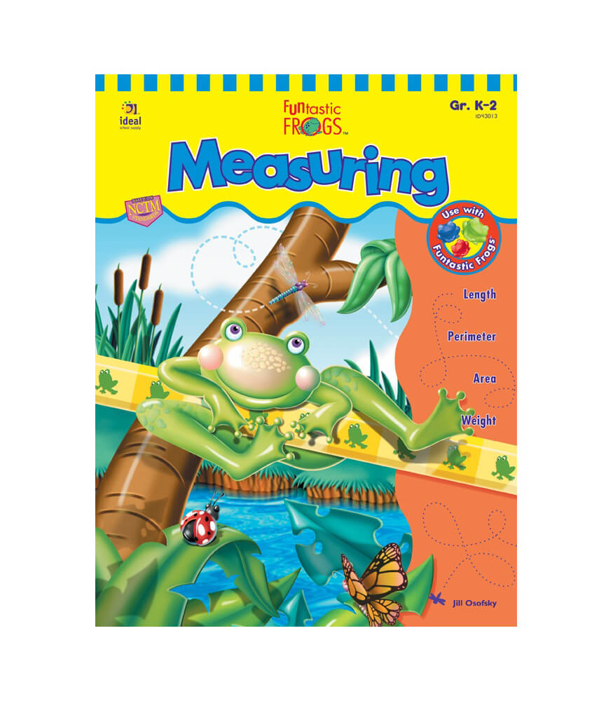 Funtastic Frogs™ Measuring Resource Book Product Image