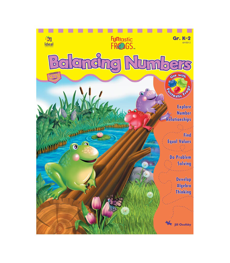 Funtastic Frogs™ Balancing Numbers Resource Book Product Image