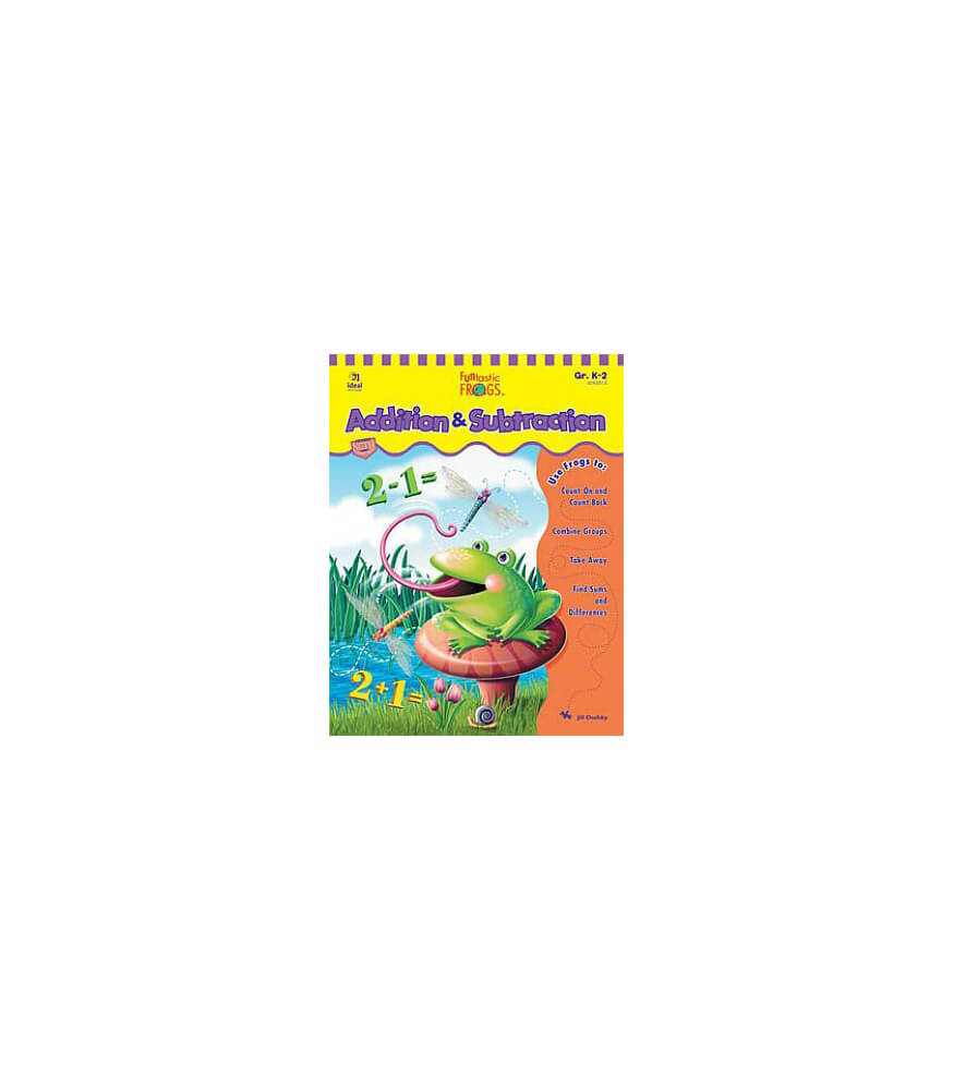 Funtastic Frogs™ Addition & Subtraction Resource Book Product Image
