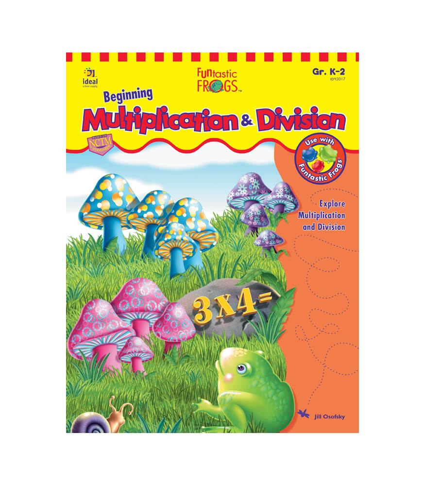 Funtastic Frogs™ Beginning Multiplication & Division Resource Book Product Image