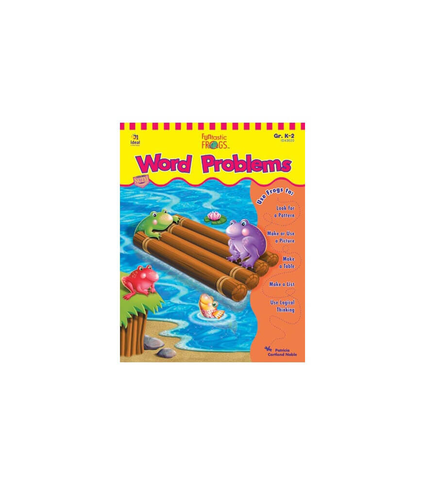 Funtastic Frogs™ Word Problems Resource Book Product Image