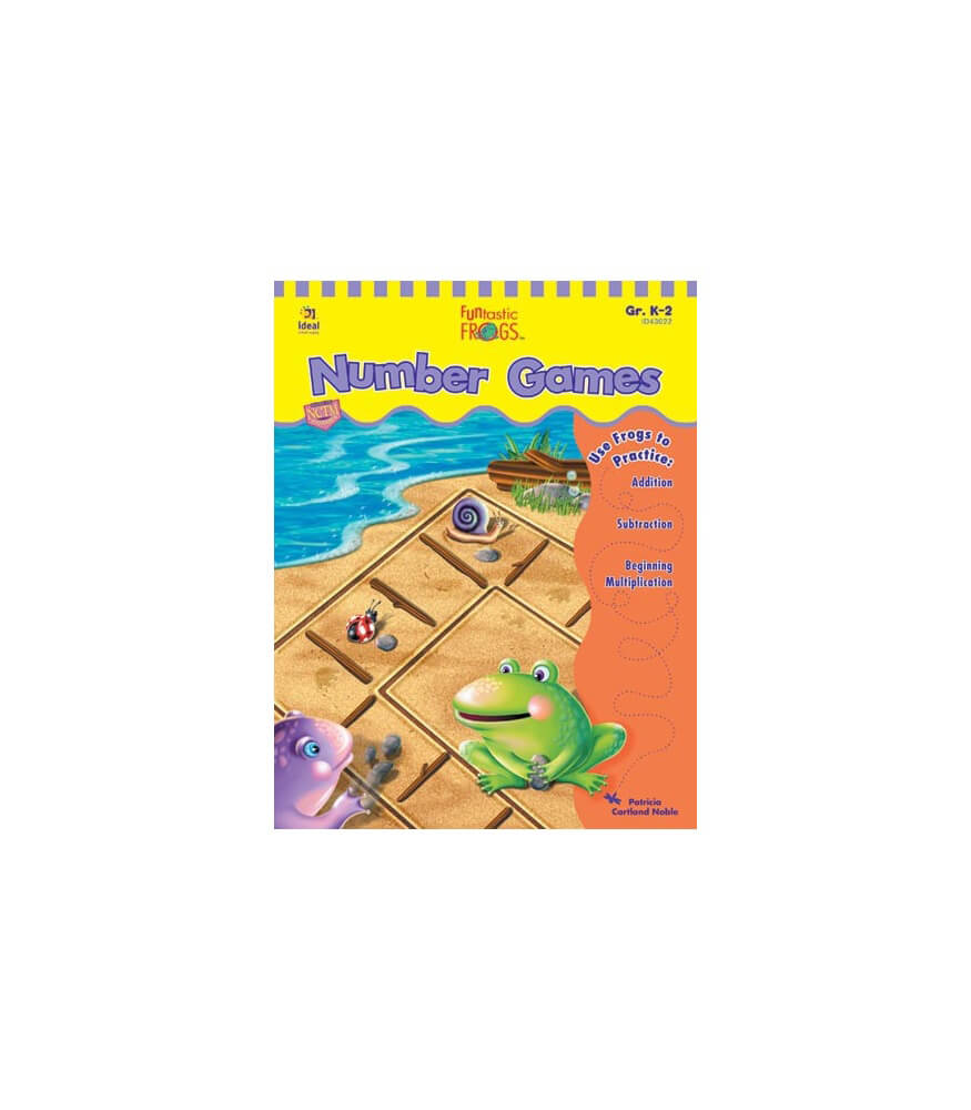 Funtastic Frogs™ Number Games Resource Book Product Image