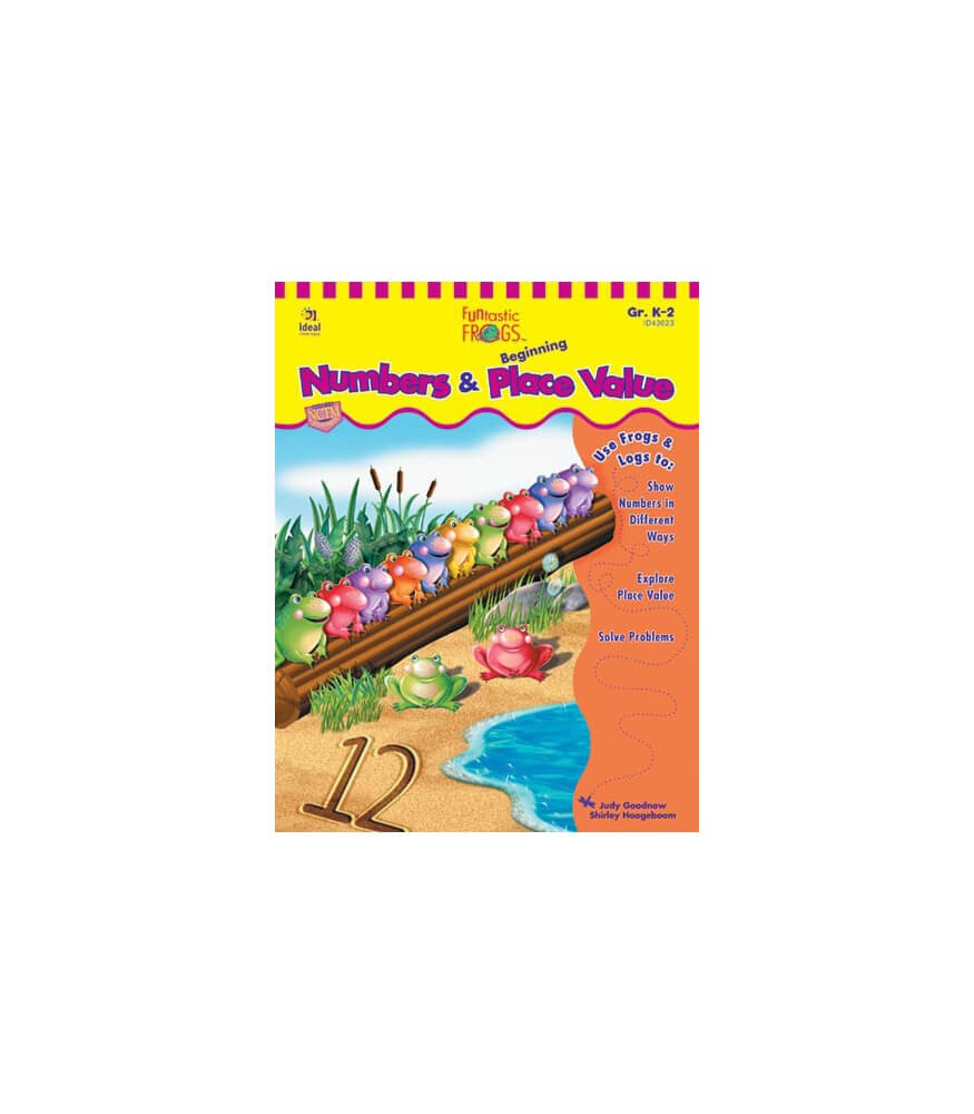 Funtastic Frogs™ Numbers and Beginning Place Value Resource Book Product Image