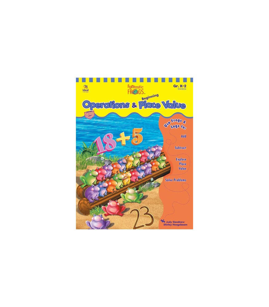 Funtastic Frogs™ Operations and Beginning Place Value Resource Book Product Image