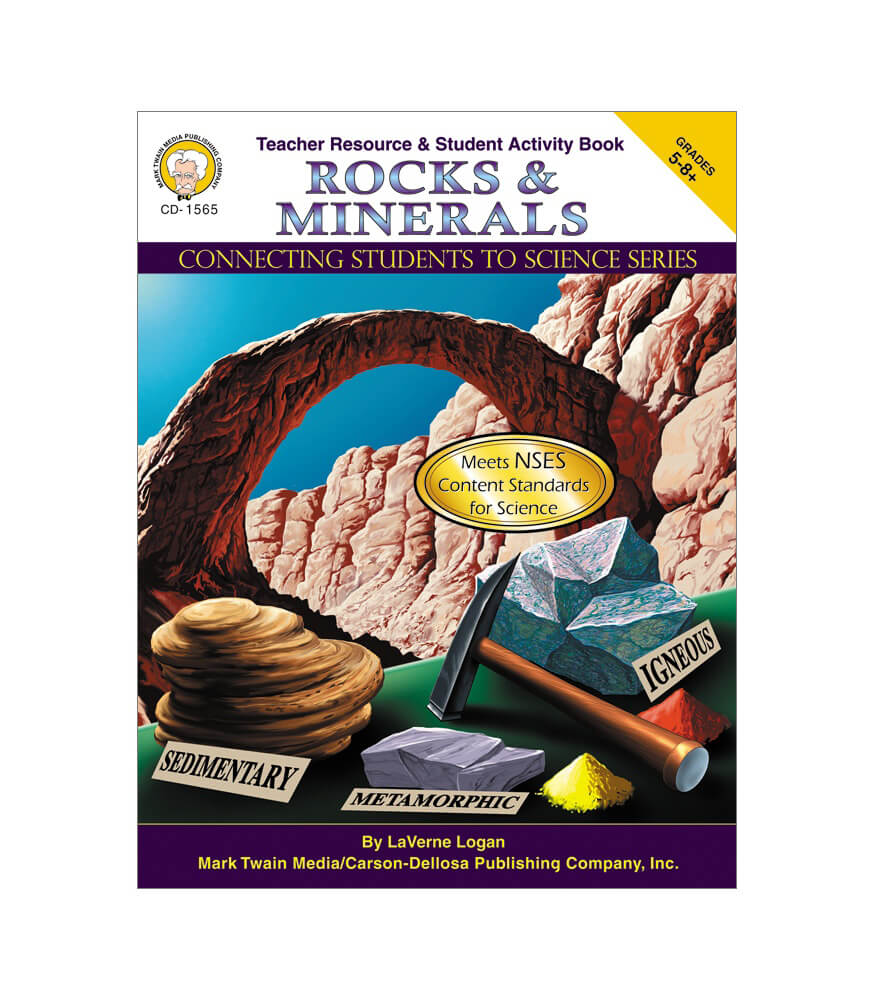 Rocks & Minerals Resource Book Product Image