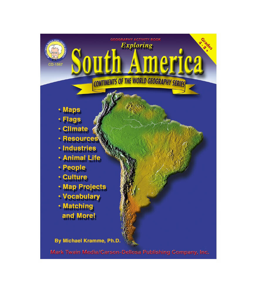 Exploring South America Resource Book Product Image