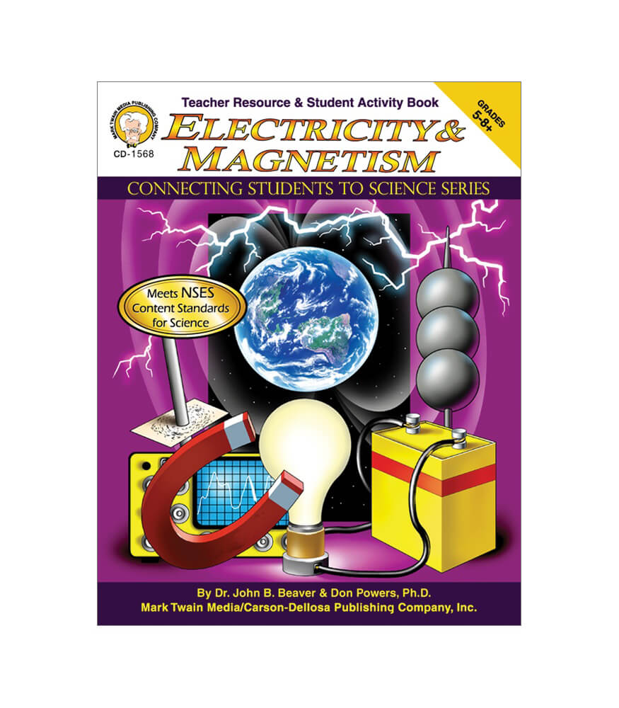 Electricity & Magnetism Resource Book Product Image