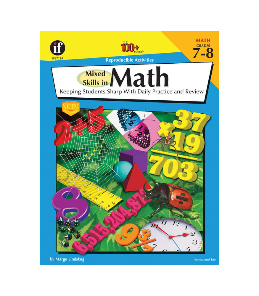 Mixed Skills in Math Workbook Product Image