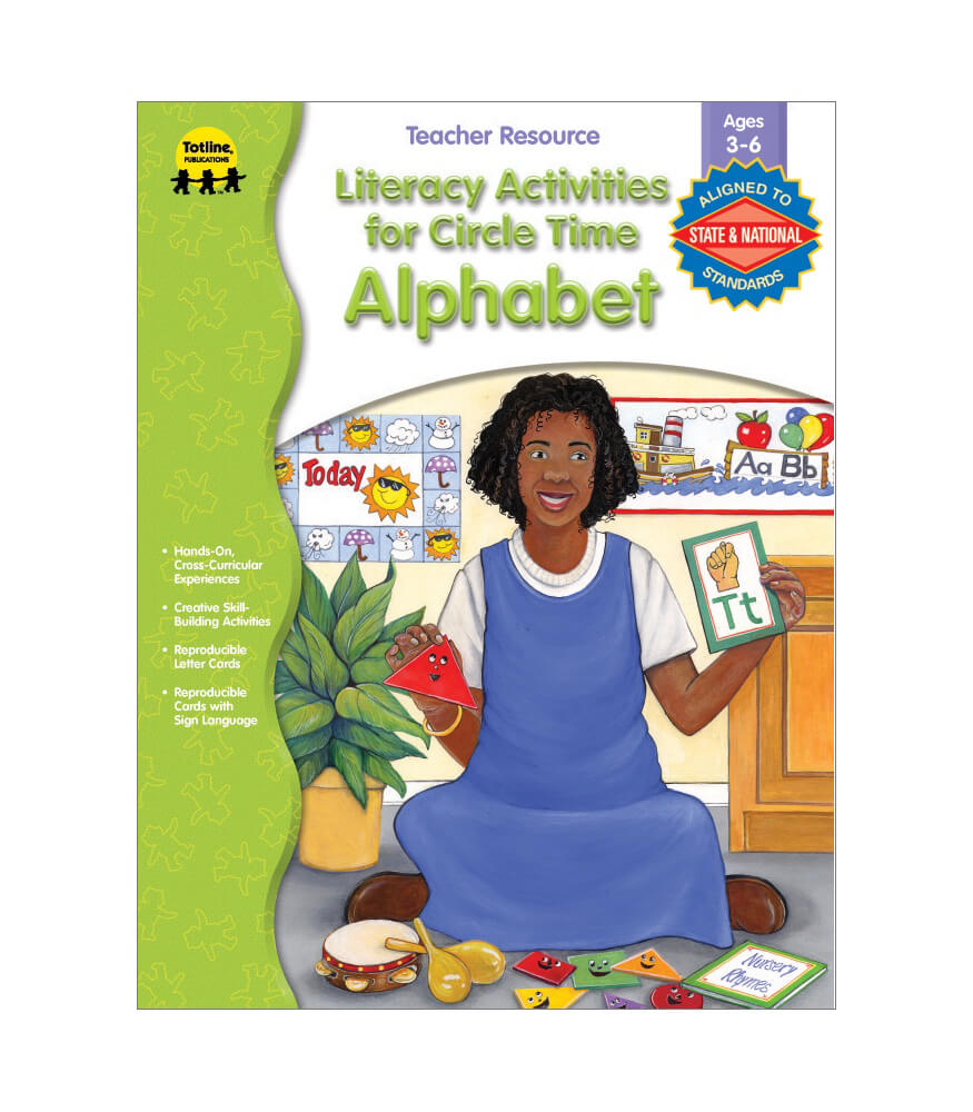 Literacy Activities for Circle Time: Alphabet Resource Book Product Image