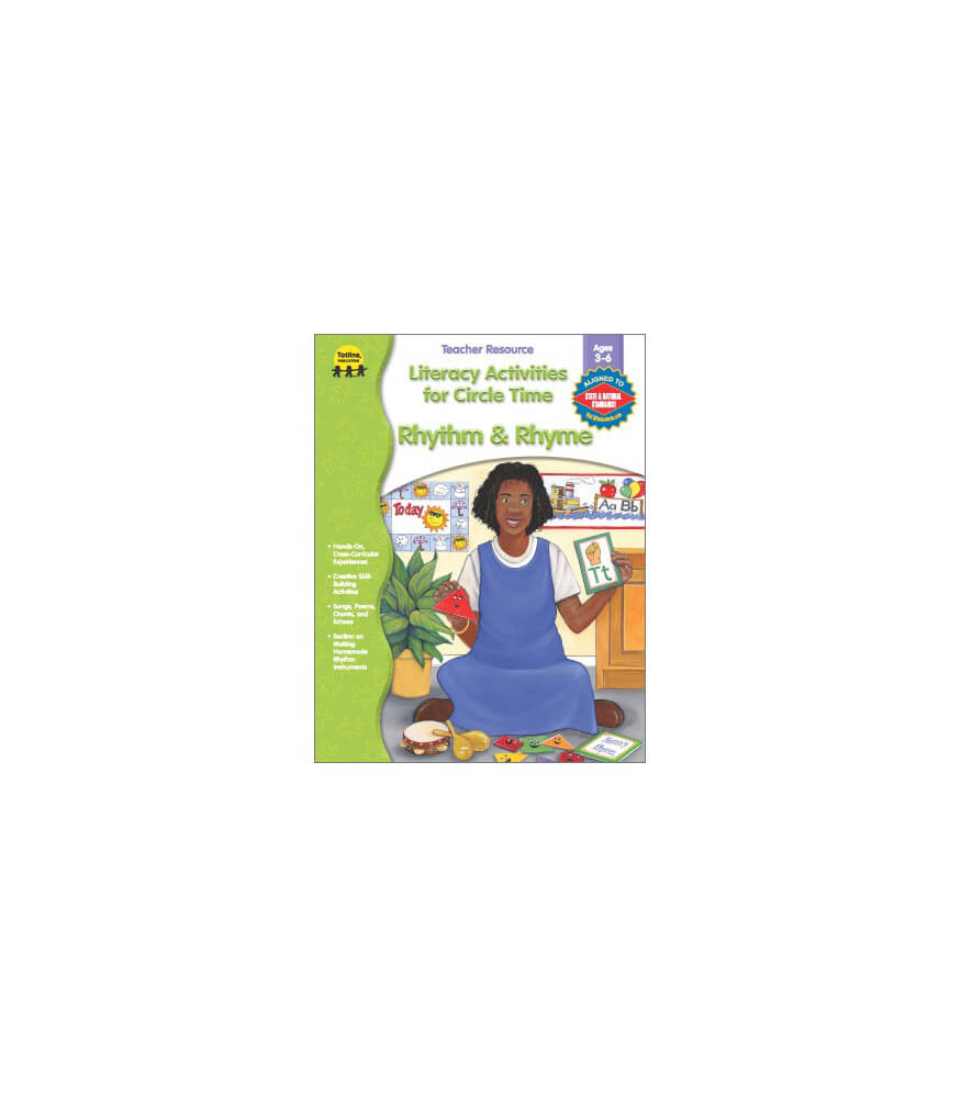 Literacy Activities for Circle Time: Rhythm and Rhyme Resource Book Product Image
