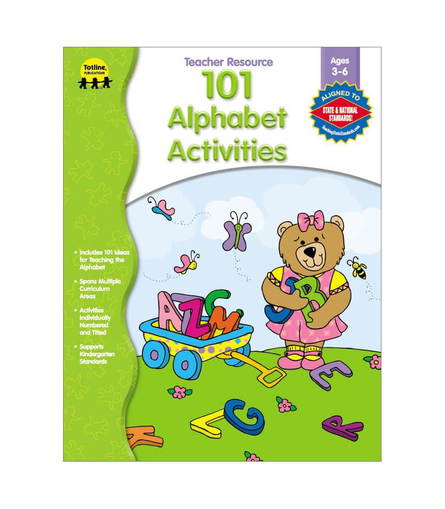 101 Alphabet Activities Resource Book Product Image