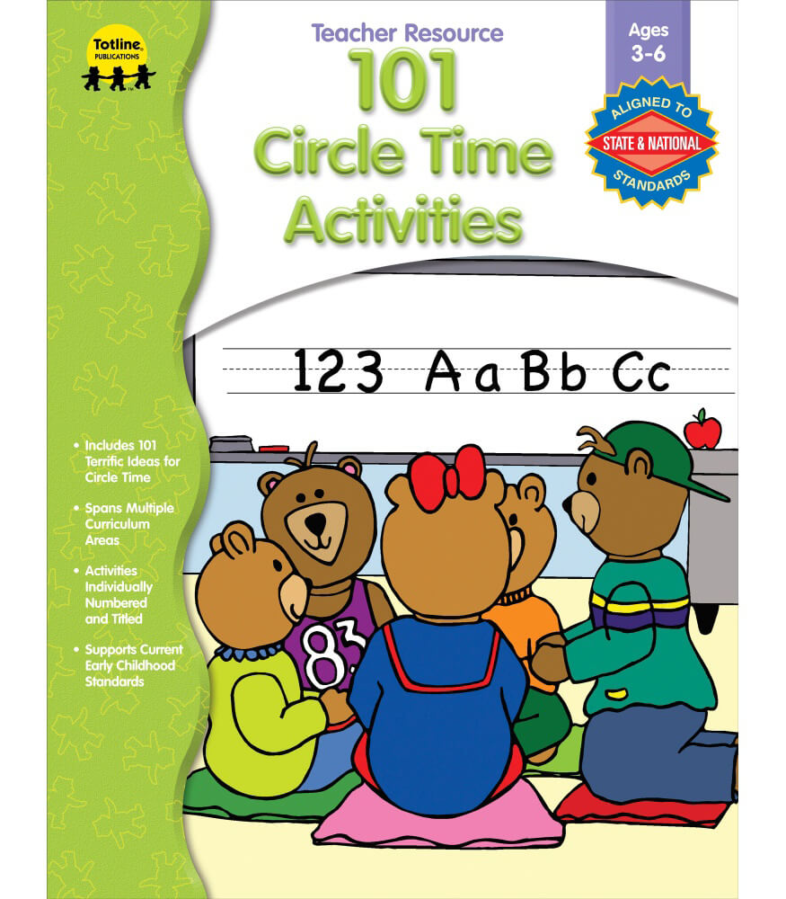 101 Circle Time Activities Resource Book Product Image