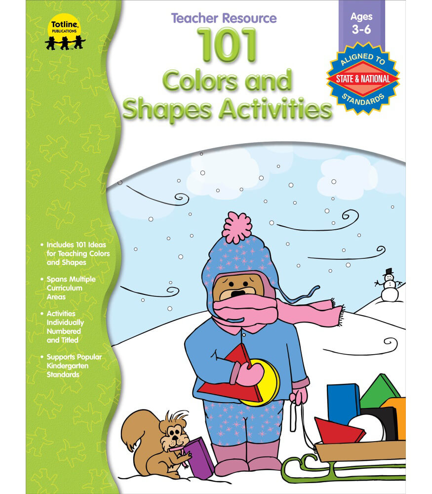 101 Colors and Shapes Activities Resource Book Product Image