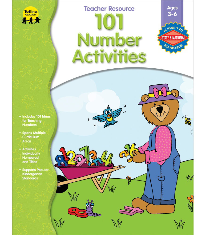 101 Number Activities Resource Book Product Image