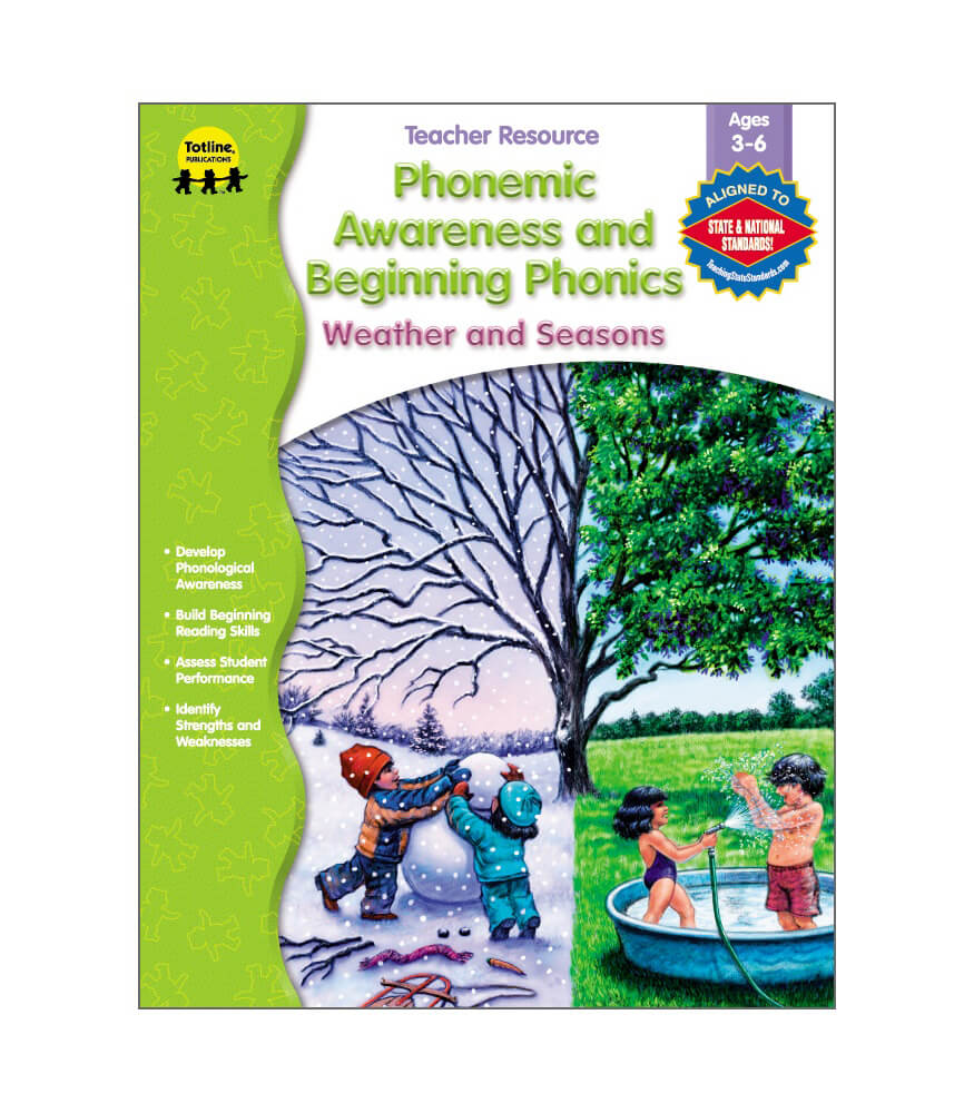 Phonemic Awareness and Beginning Phonics Resource Book Product Image