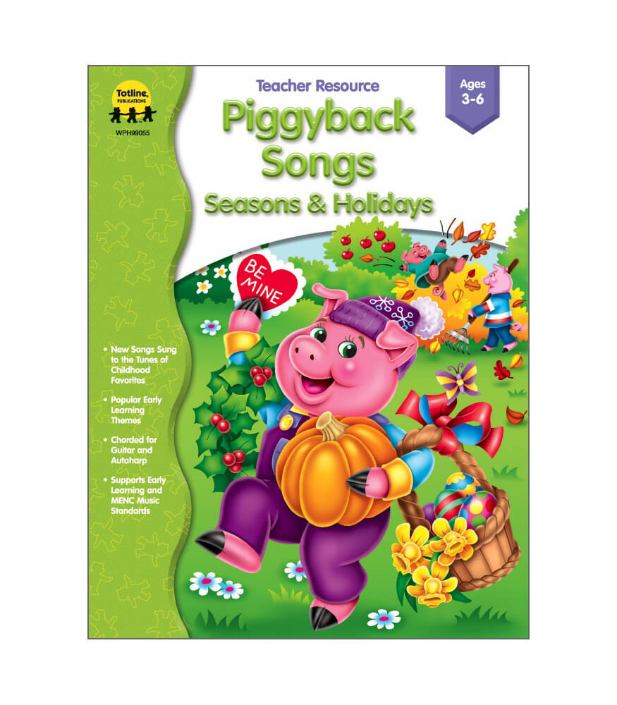 Piggyback Songs - Seasons & Holidays Resource Book Product Image