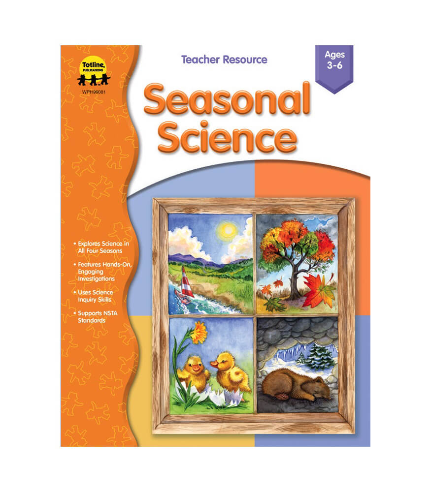 Seasonal Science Resource Book Product Image
