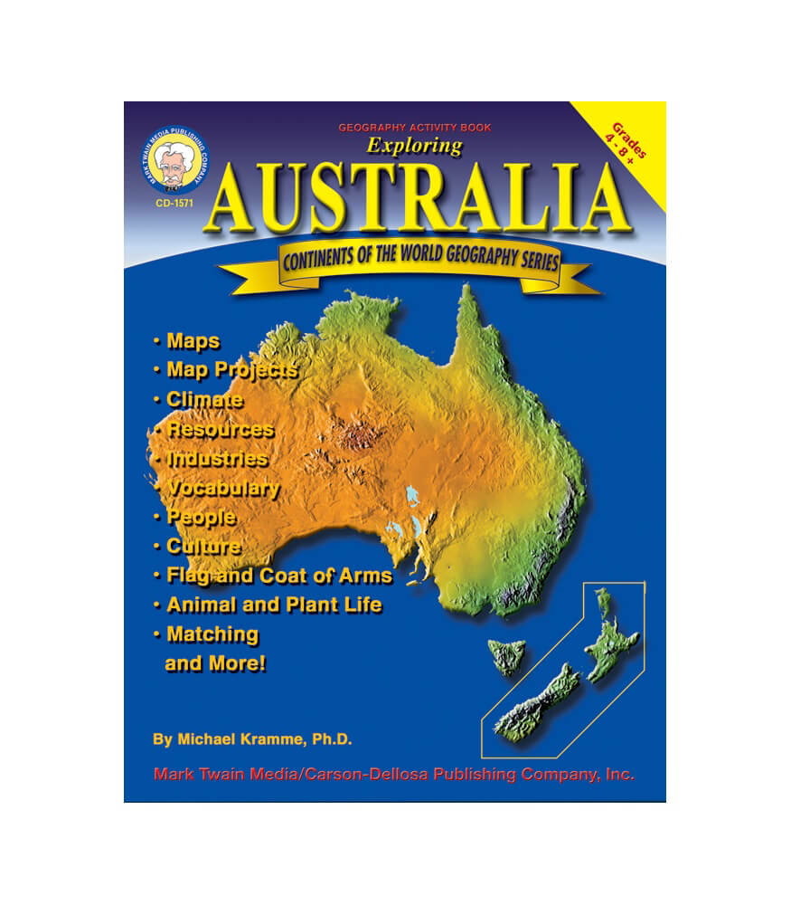 Exploring Australia Resource Book Product Image