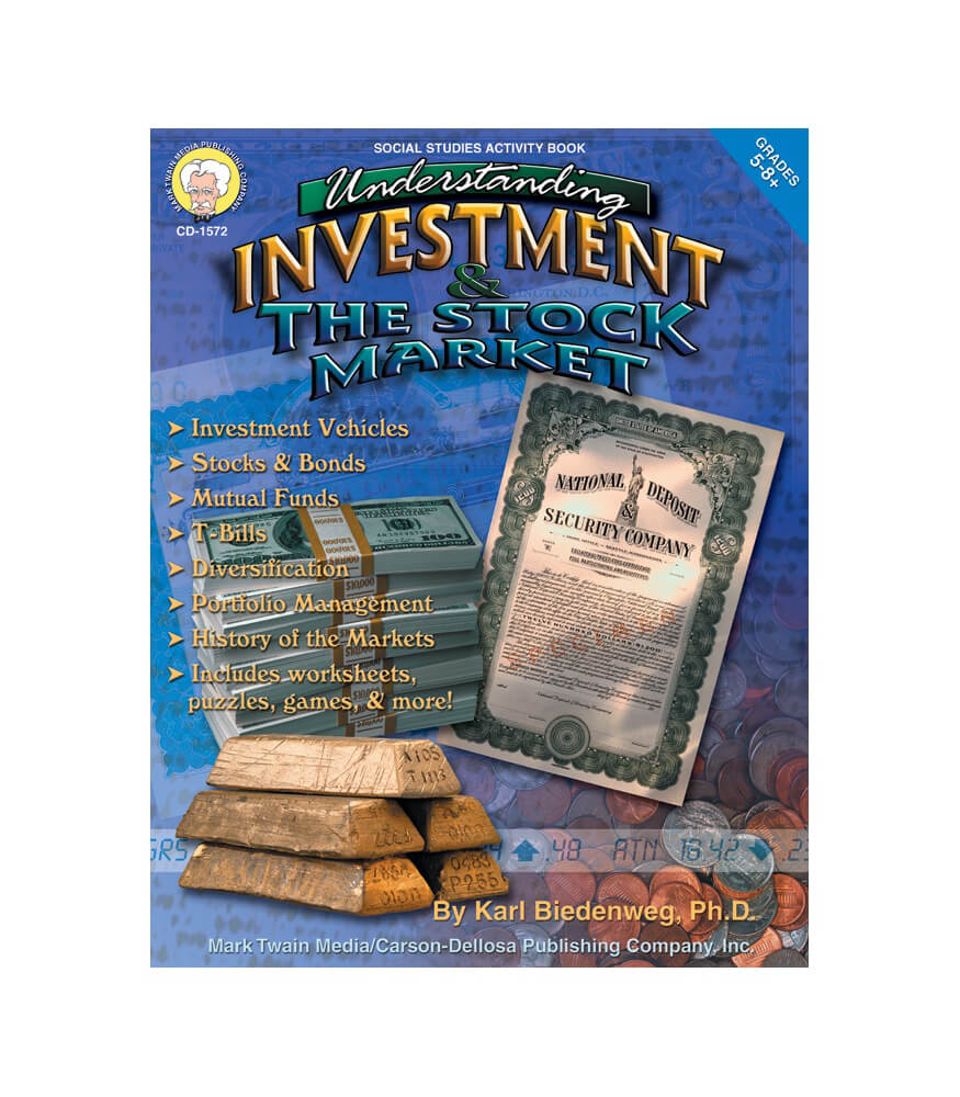 Understanding Investment & the Stock Market Resource Book Product Image