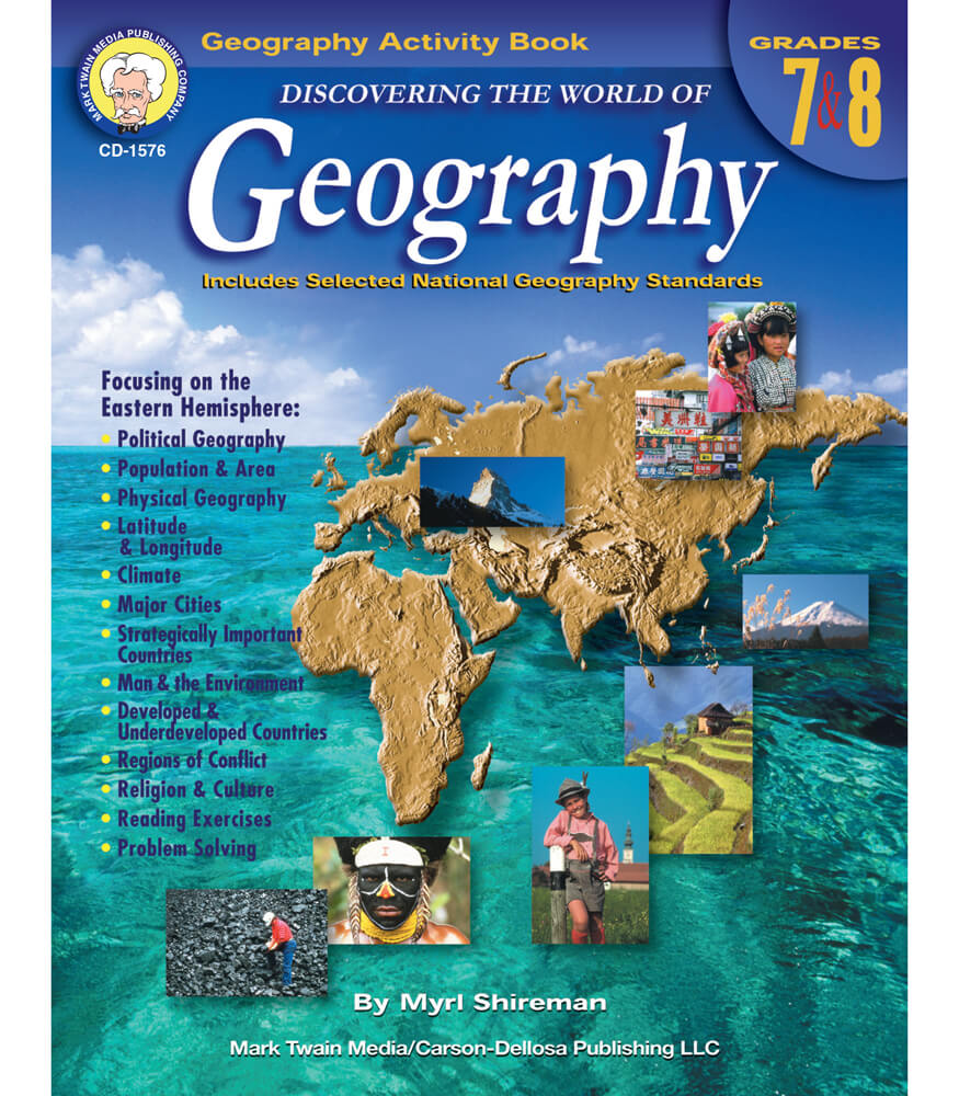 Discovering the World of Geography Resource Book Product Image