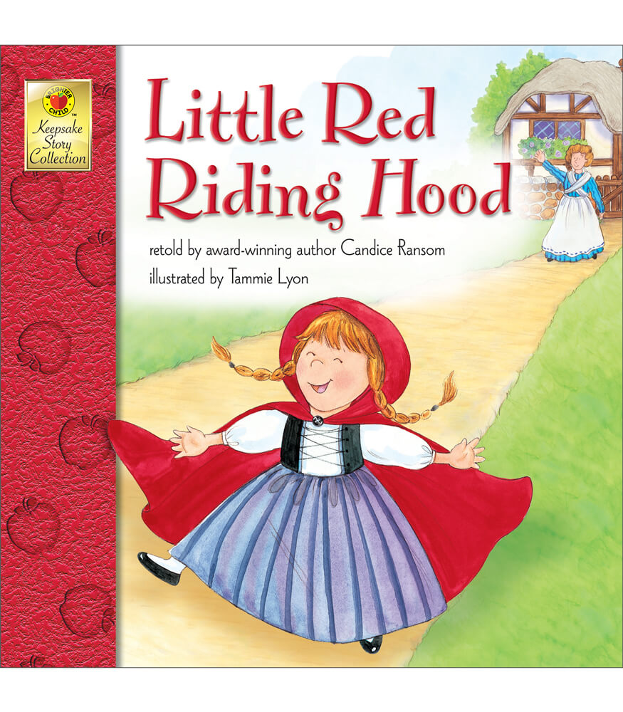 It is an image of Clean Little Red Riding Hood Story Printable