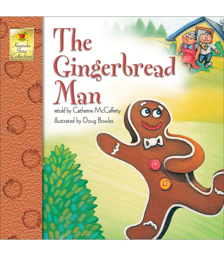 The Gingerbread Man Storybook Product Image