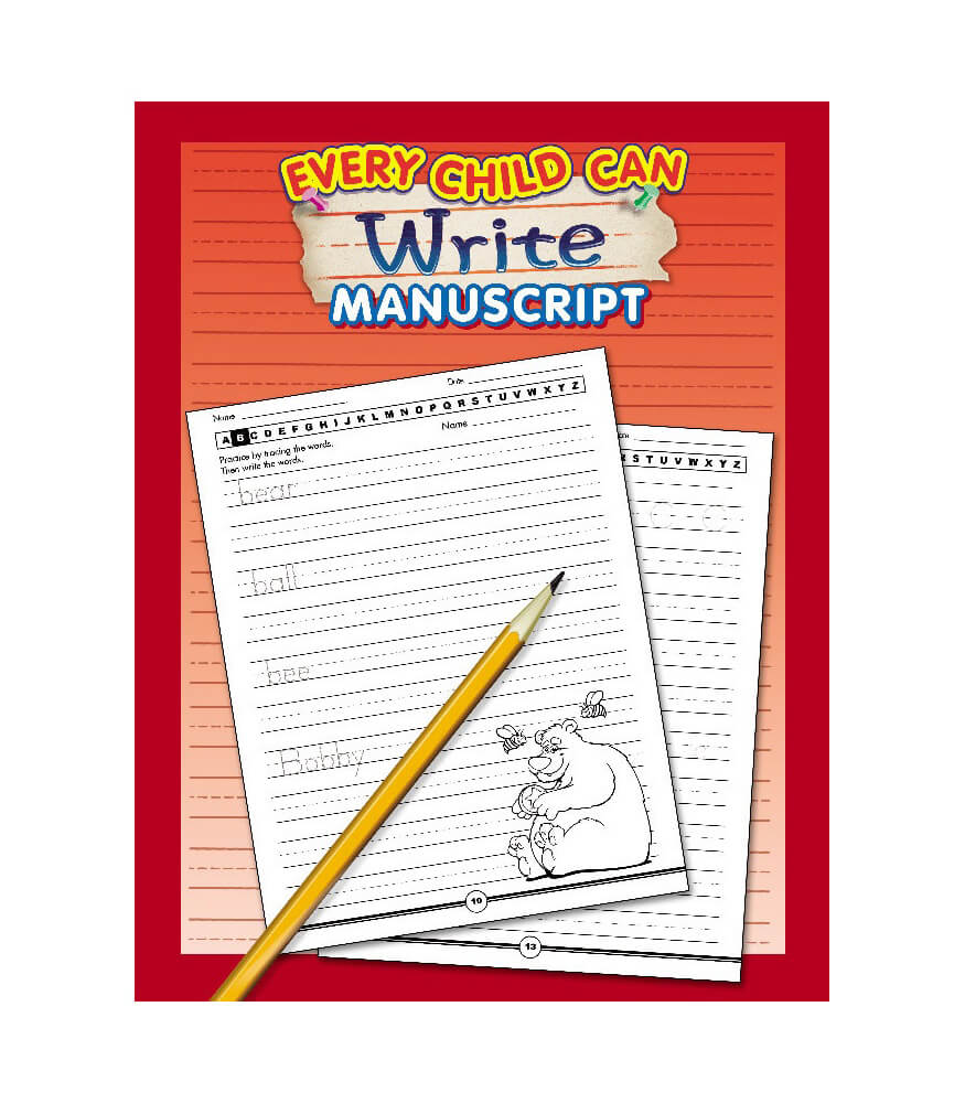 Every Child Can Write Manuscript Workbook Product Image