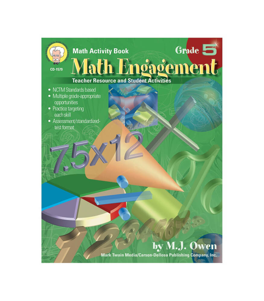 Math Engagement Resource Book Product Image
