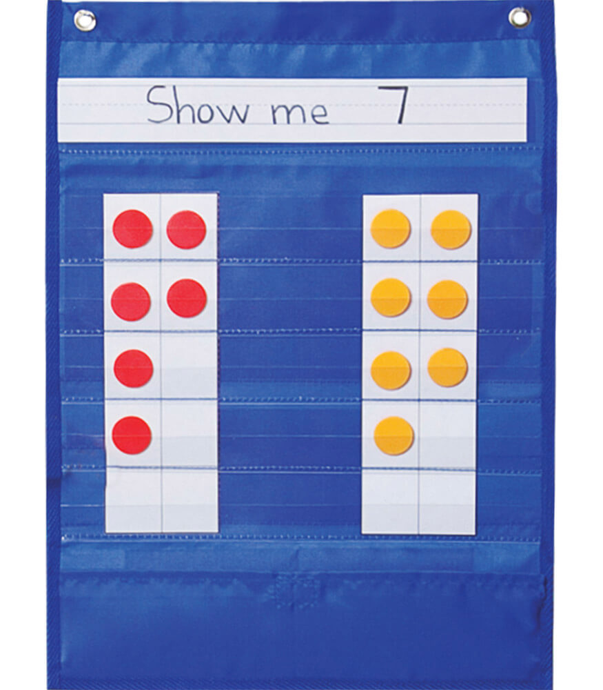 Ten Frame Pocket Chart Product Image
