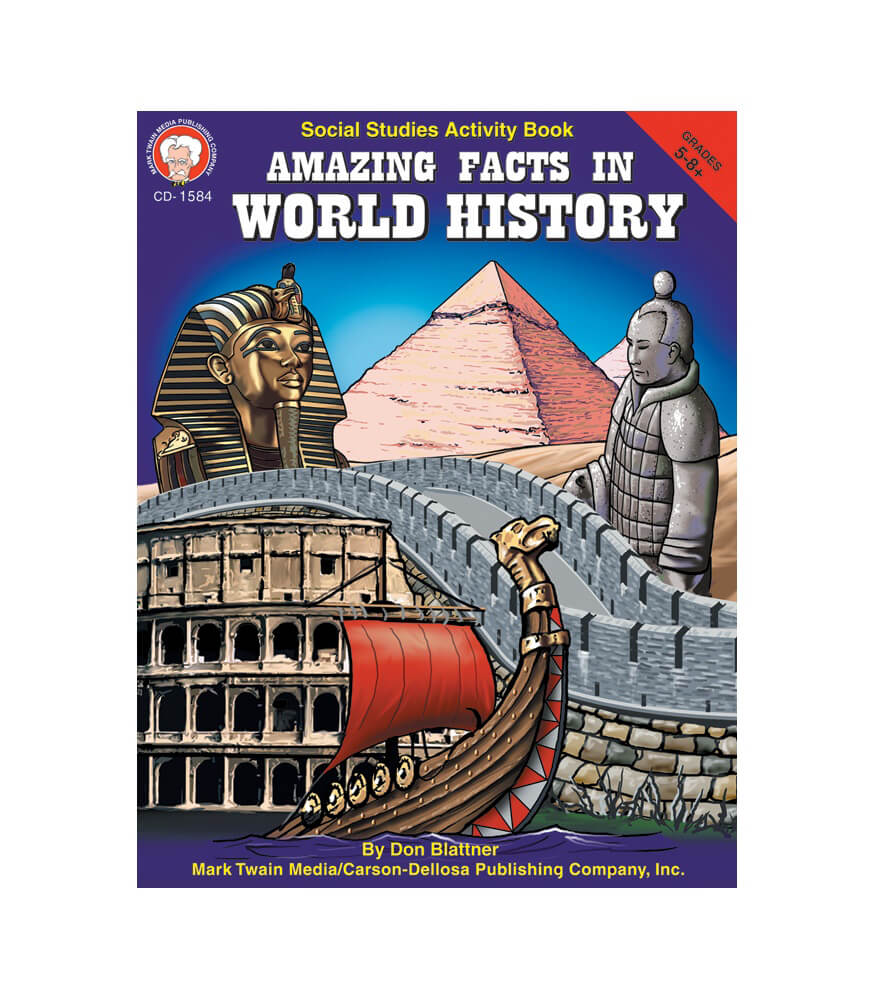 Amazing Facts in World History Resource Book Product Image