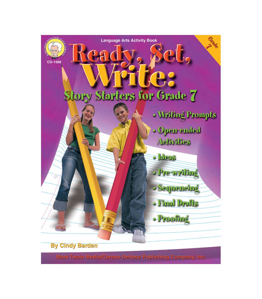 Ready, Set, Write Resource Book Product Image