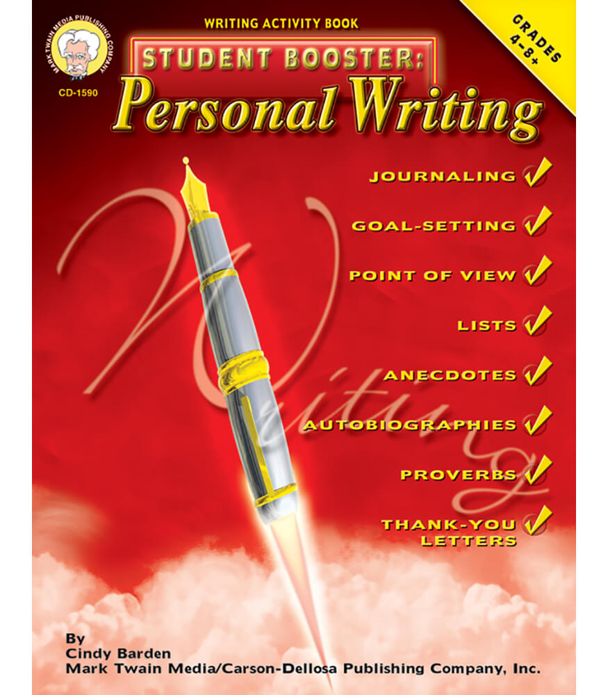 Student Booster: Personal Writing Resource Book Product Image