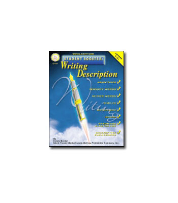 Student Booster: Writing Description Resource Book Product Image