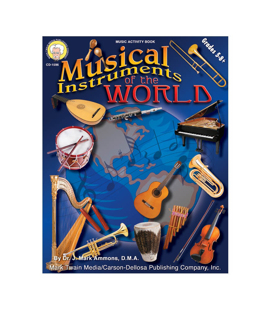 Musical Instruments of the World Resource Book Product Image