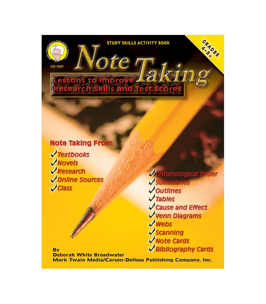 Note Taking Resource Book Product Image