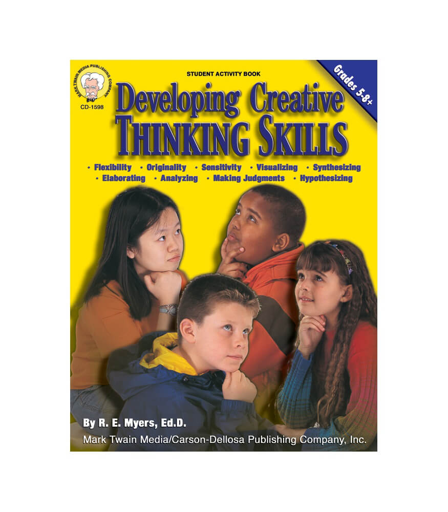 Developing Creative Thinking Skills Resource Book Product Image