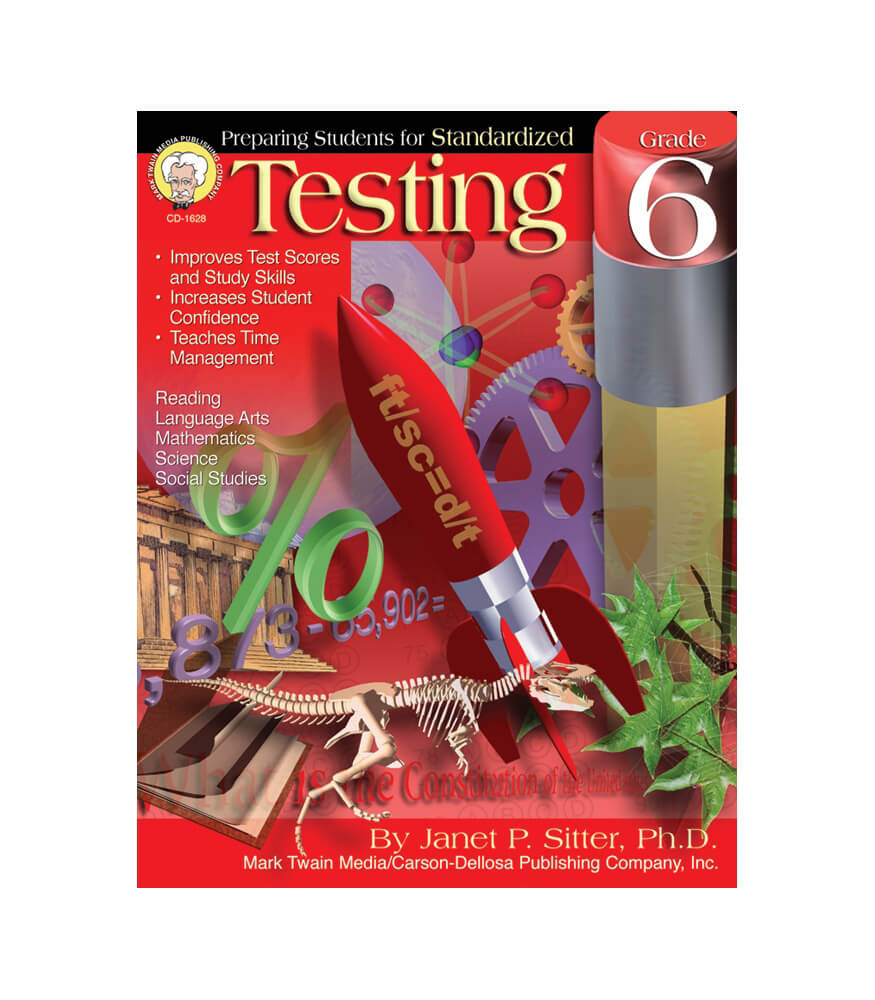 Preparing Students for Standardized Testing Resource Book Product Image