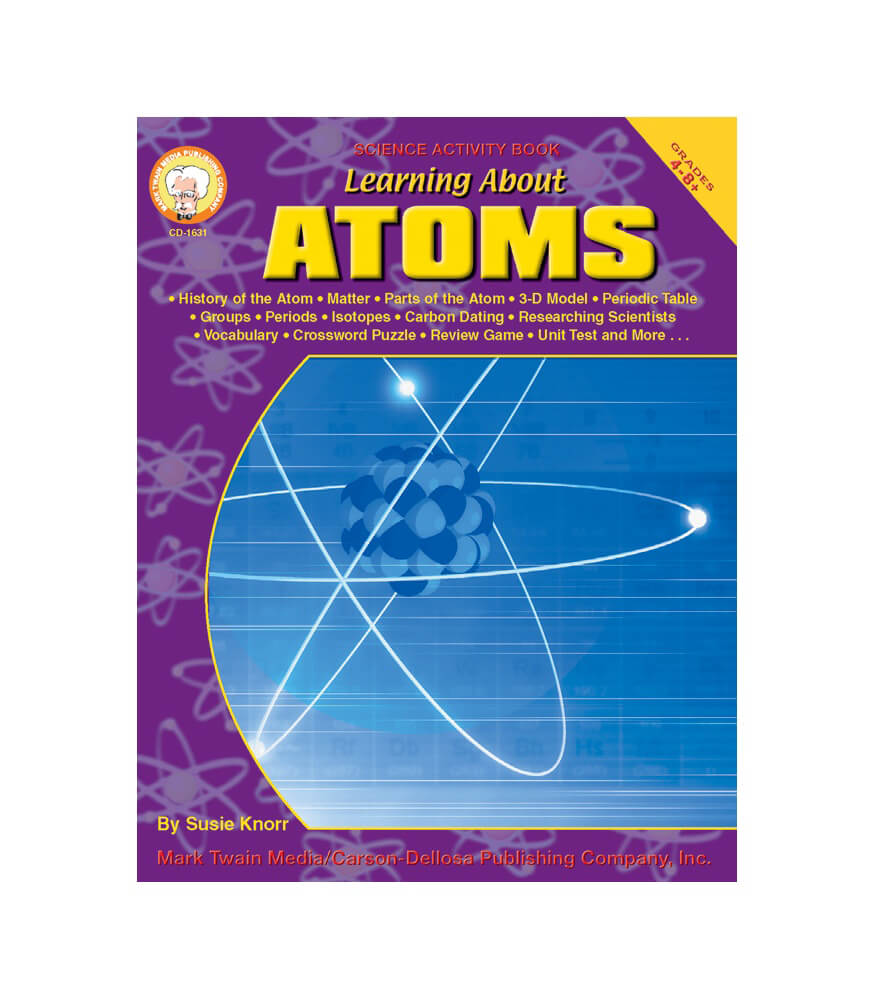 Learning About Atoms Resource Book Product Image