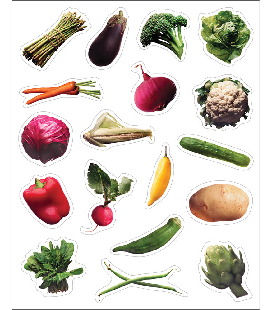 Vegetables Shape Stickers Product Image