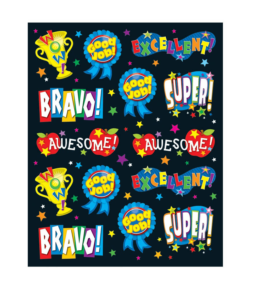 Positive Words Shape Stickers Product Image