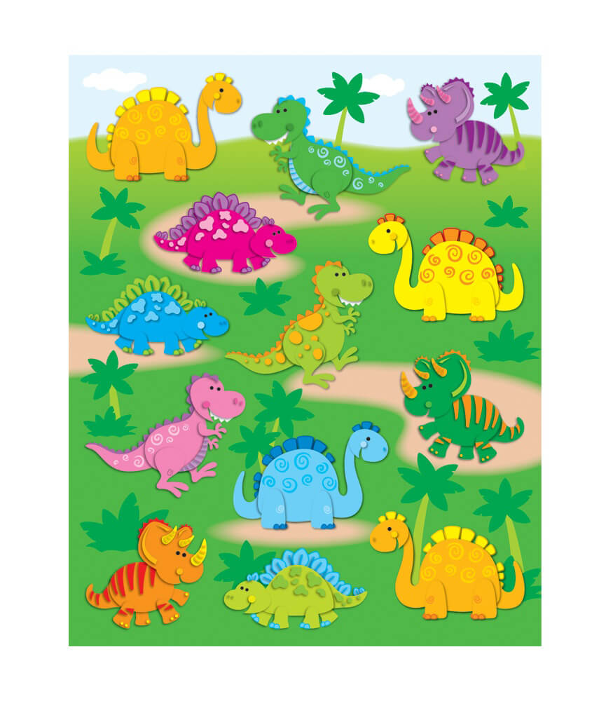 Dinosaurs Shape Stickers Product Image