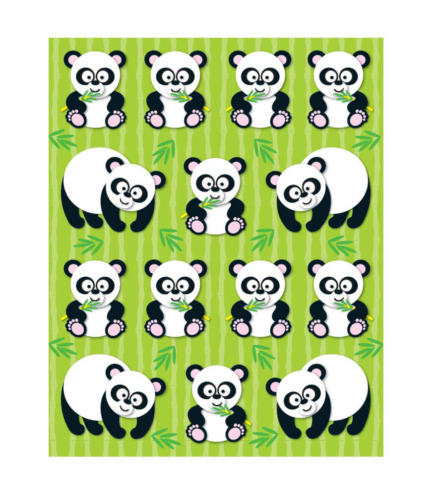 Pandas Shape Stickers Product Image