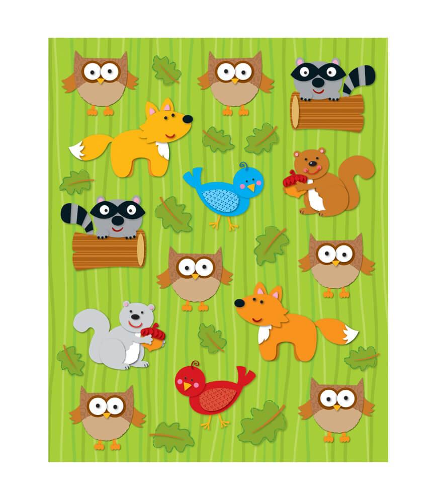 Woodland Animals Shape Stickers Product Image