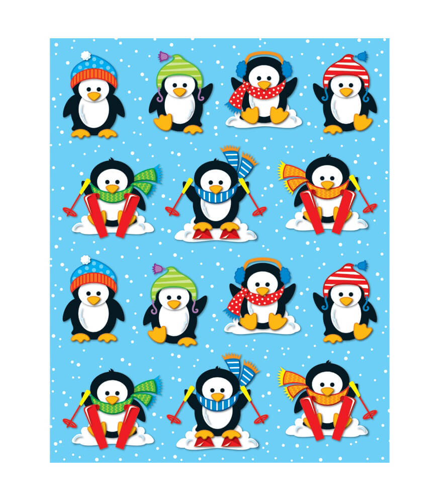 Penguins Shape Stickers Product Image