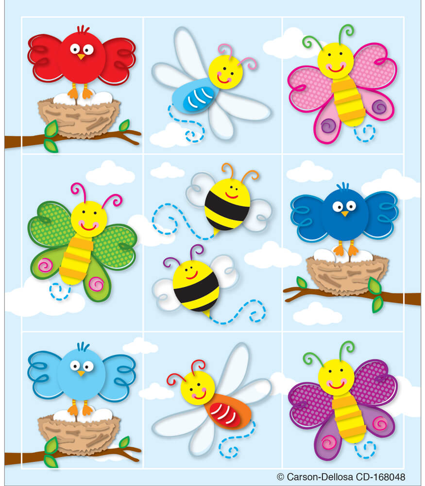 Spring Prize Pack Stickers Product Image