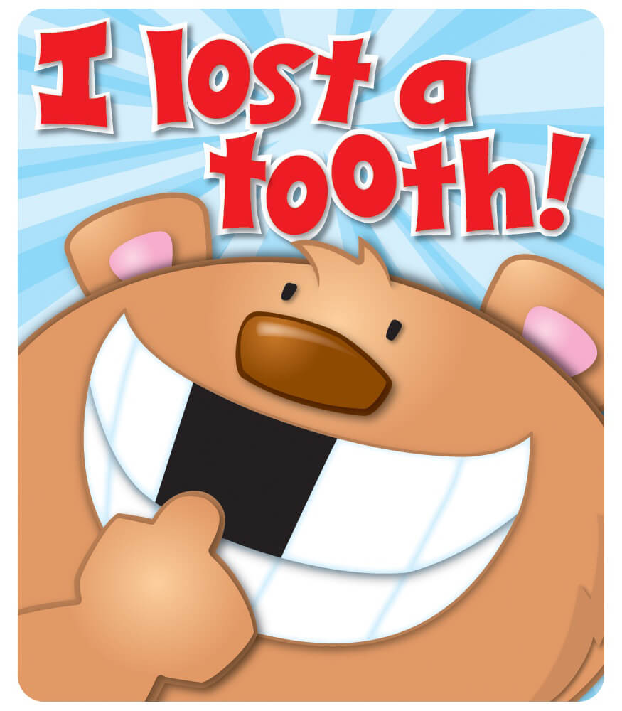 I Lost a Tooth Motivational Stickers Product Image