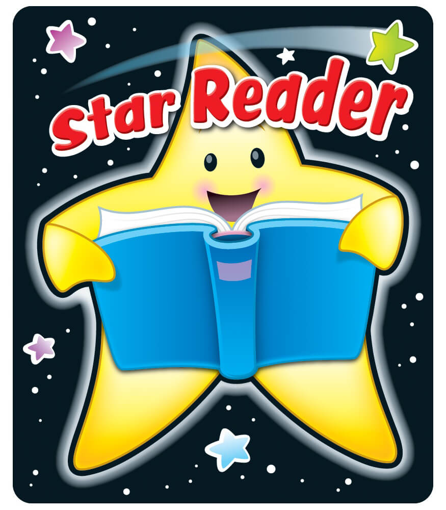 Star Reader Motivational Stickers Product Image