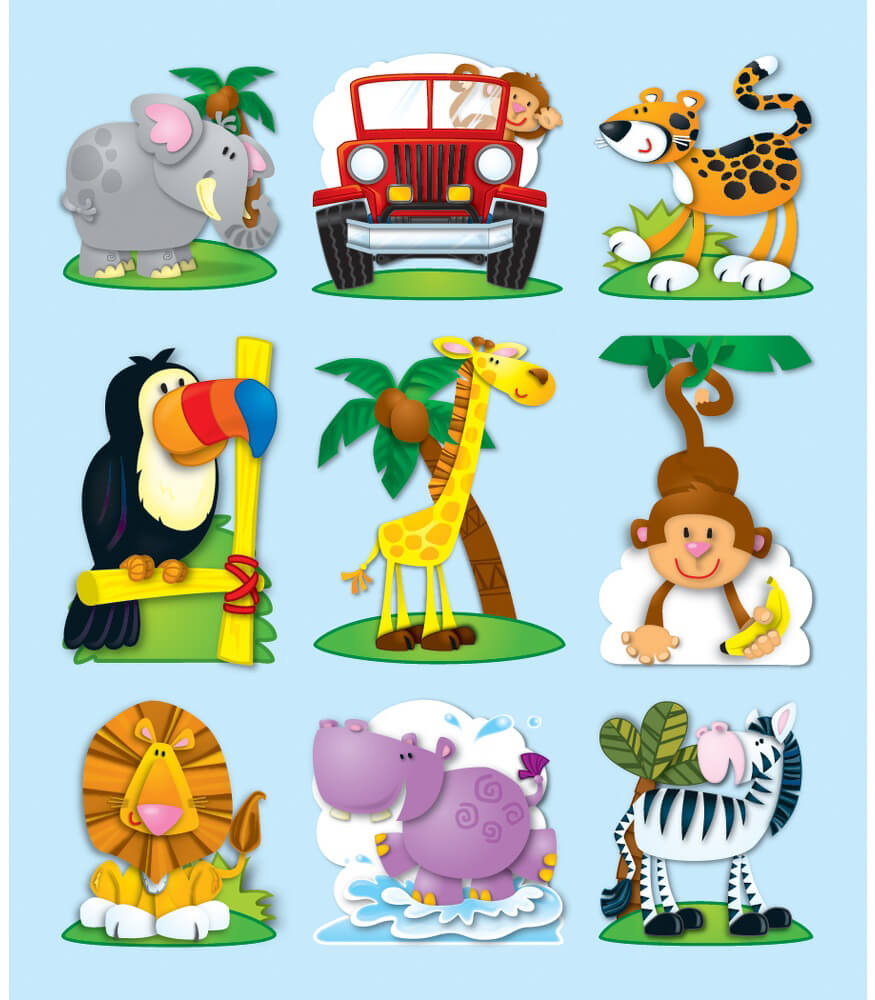 Jungle Prize Pack Stickers Product Image