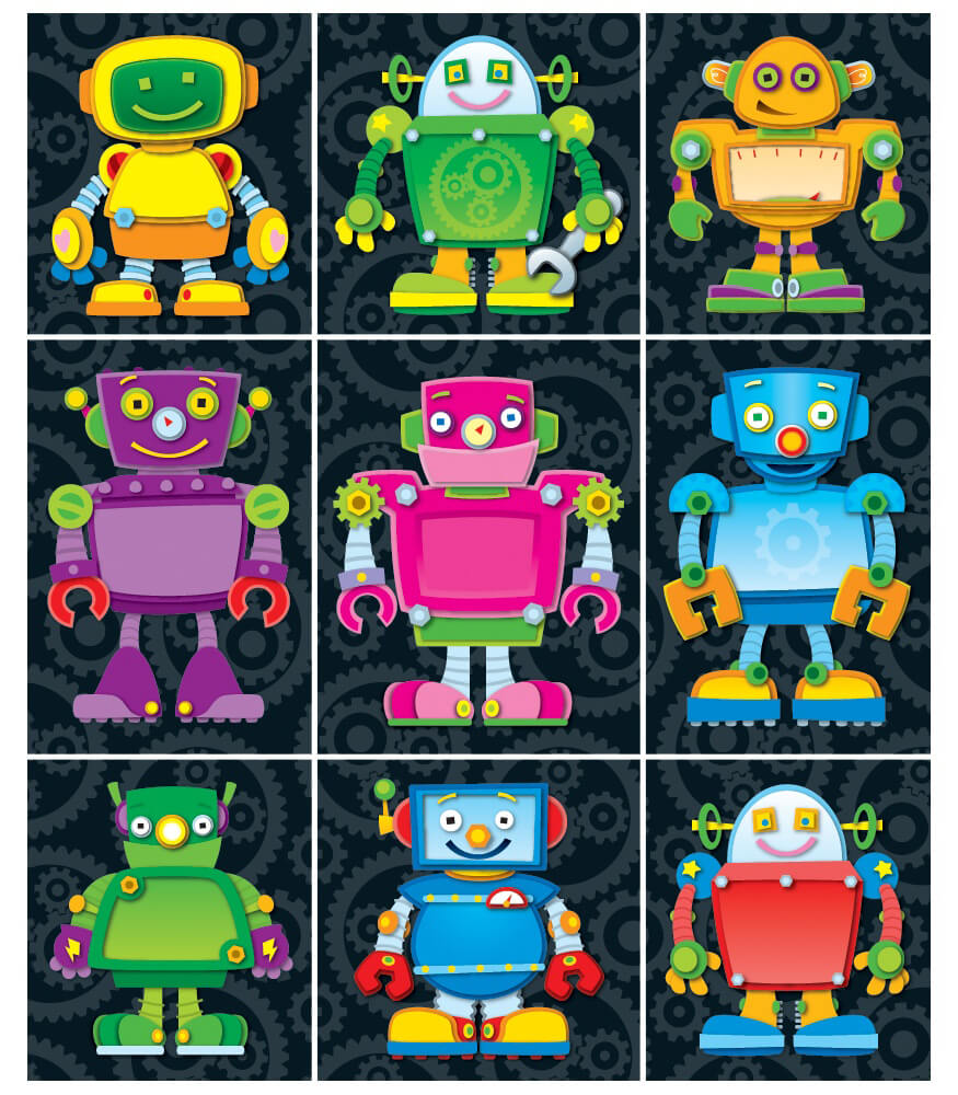 Robots Prize Pack Stickers Product Image